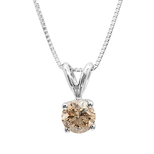 Diamond 14k Gold Pendant - 3