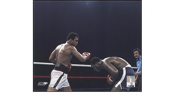 Joe Frazier Thrilla in Manila Art Silk Poster 24x36inch Muhammad Ali vs