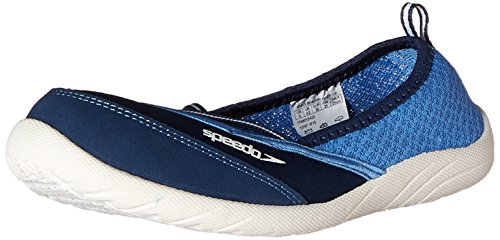 Speedo Women's Beachrunner 3.0 Water Shoe, Navy/White, 8 M US (Speedos Water Shoes compare prices)
