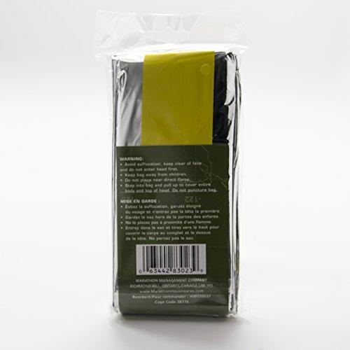 Marathon Housewares HW030037 Emergency Mylar Space Sleeping Bag 84 x 36 inches