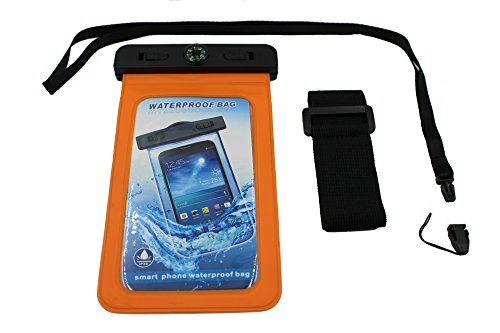 Sports Armband for Samsung Galaxy S5 and HTC One M7 (Orange) - 7
