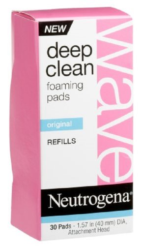 Foaming Pad (Neutrogena Wave Deep Clean Foaming Pads-30 ct (Pack of)