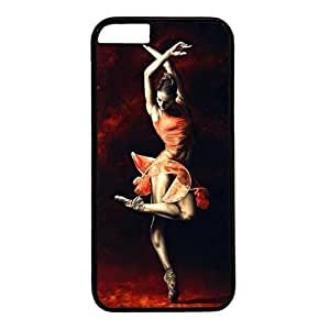 Black PC Case Cover For iphone 6 plus with The Passion Of Dance Poster Xiang's Case