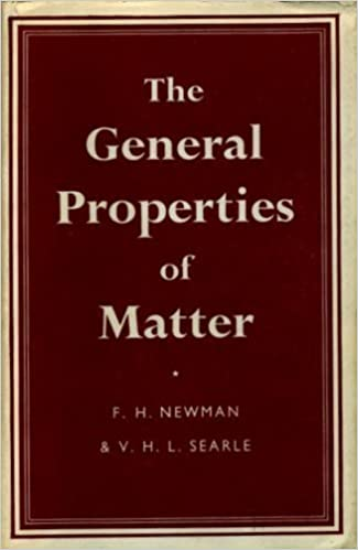 general properties of matter newman and searle
