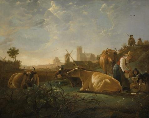 Ipad 2 Halloween Costume Hole - 'Aelbert Cuyp - The Large Dort,about 1650' Oil Painting, 16x20 Inch / 41x51 Cm ,printed On Perfect Effect Canvas ,this Beautiful Art Decorative Canvas Prints Is Perfectly Suitalbe For Game Room Decoration And Home Gallery Art And Gifts