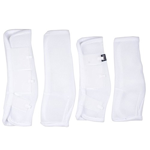 Shires, Airflow Turnout Socks White Full