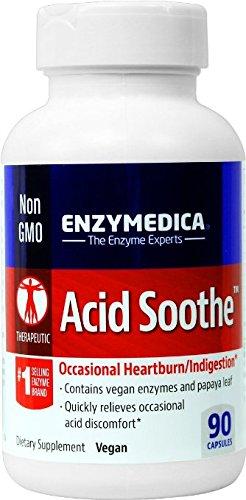 Enzymedica - acide apaiser, aide avec le Reflux acide, brûlures d'estomac occasionnelles & Indigestion, 90 Capsules (FFP)