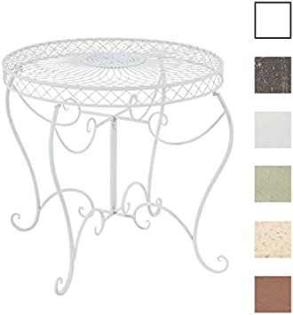 CLP Table Ronde de Jardin Sheela - Table de Jardin Design en ...