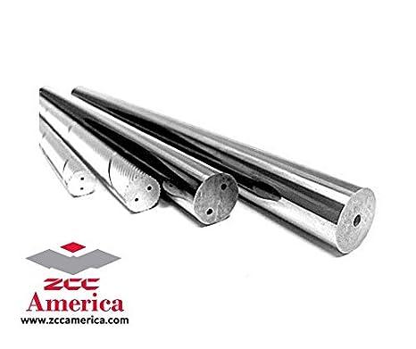 """Ground Polished Chamfered Castlebar 1/"""" X 4/"""" Premium 10/% Cemented Tungsten Carbide Round Rod Grade 1008//C2"""
