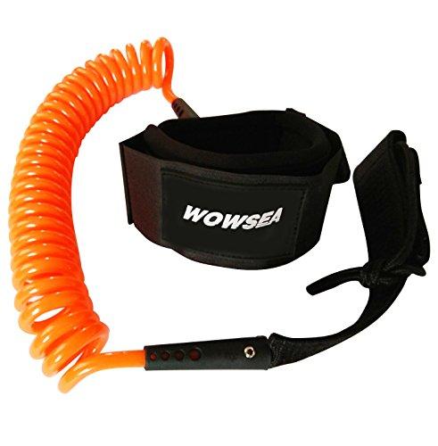 [해외]WOWSEA 스탠드 업 패 들 보드 SUP 전용 リ?シュコ?ド / WOWSEA Stand-up Paddle Board SUP Exclusive Leash Cord
