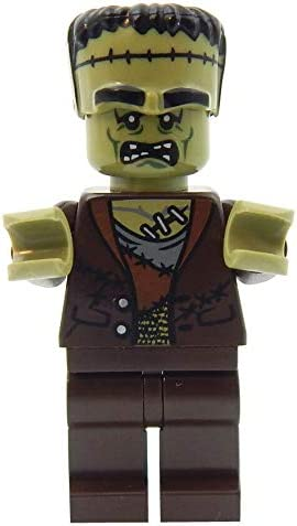 Lego Frankenstein Minifigure Halloween Spooky Scary Haunted Ghost Minifig