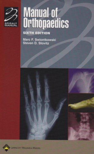 Manual of Orthopaedics