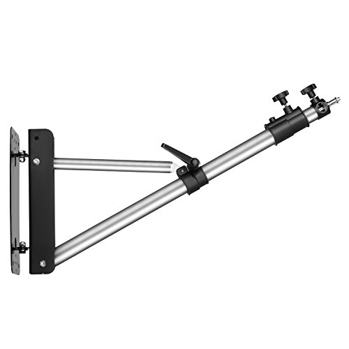 "Neewer Max Height 49""/125cm Wall Mounting Boom Arm for Photography Studio Video Lights, Monolights, Umbrellas, Reflectors from Neewer"