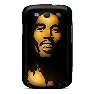 Durable Protector Case Cover With Bob Marley Hot Design For Galaxy S3 by Maris's Diary
