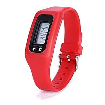 WMWMY Las Parejas de Moda LED Reloj Reloj electrónico Hombres Deportes Outdoor Simple Sra. Reloj Digital,Rojo: Amazon.es: Electrónica