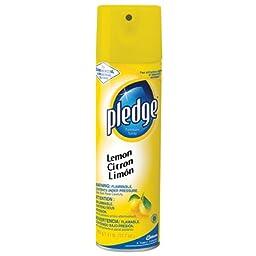 Pledge Commercial Aerosol - 13.8 oz., Lemon -(1 CASE)