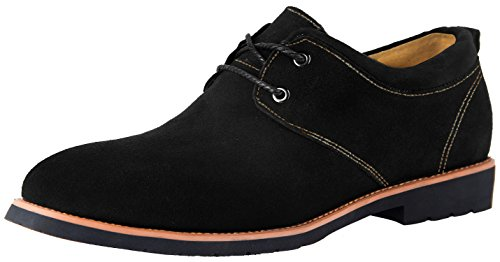iLoveSIA Men's Casual Suede Leather Oxford Shoes
