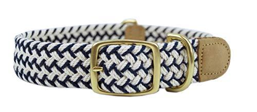 Leather Man Ltd Macramé Newport Dog Collar (Medium)