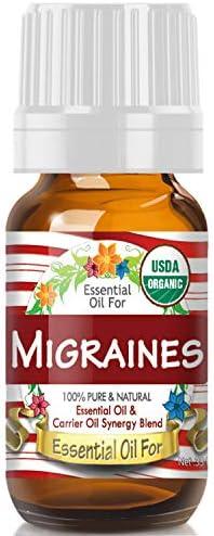 Essential Oil Migraines USDA Organic