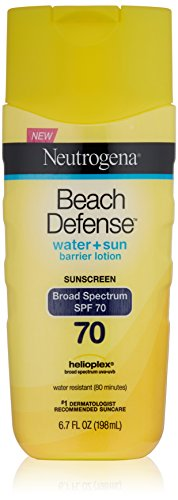 Neutrogena Beach Defense Lotion écran solaire à large spectre SPF 70 Protection, 6,7 once