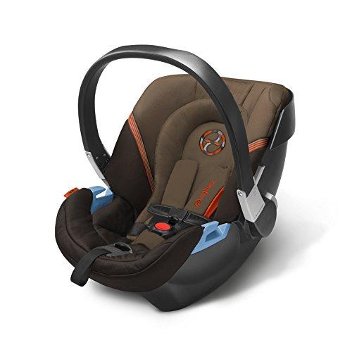CYBEX Aton 2 Infant Car Seat, Coffee Bean