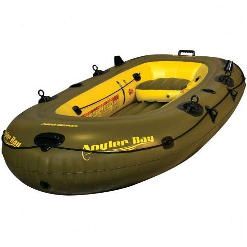 Bote Inflavel P/ 4 Pessoas Angler Bay - Boat Airhead + Nf