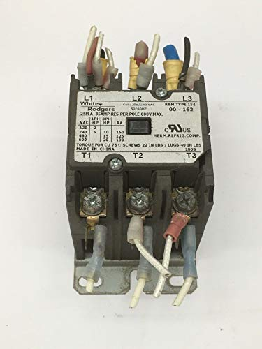- White-Rodgers RBM Type 154 Definite Purpose Contactor