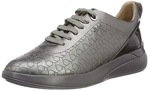 Theragon Geox Basses graphite Sneakers D Femme C1115 C Gris Uqrq6g5
