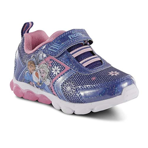 Toddler Girls' Disney Frozen Light-Up Sneaker