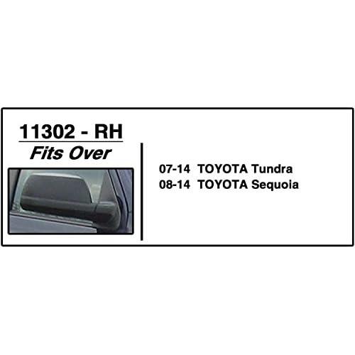 CIPA 11302 Toyota Tundra Custom Passenger Side Towing Mirror Cipa USA