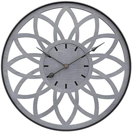 PeleusTech 20Inch Modern Wall Clock Silent Wall Clock Metal Wall Clock