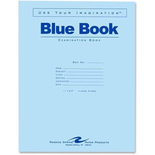ROA77515 - Roaring Spring Examination Book by Roaring Spring