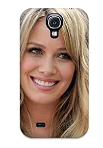 taoyix diy For IkcfDNl1862DJCtf Cute Smile Hilary Duff Celebrities Protective Case Cover Skin/galaxy S4 Case Cover