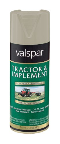 - Valspar 5339-13 Frd Gray Tractor and Implement Spray Paint - 12 oz.