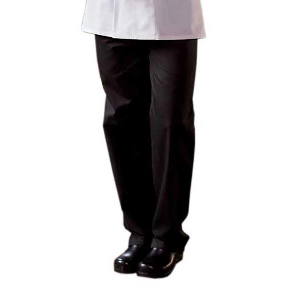 Black Ladies Chef Pants (Size: 2XL)