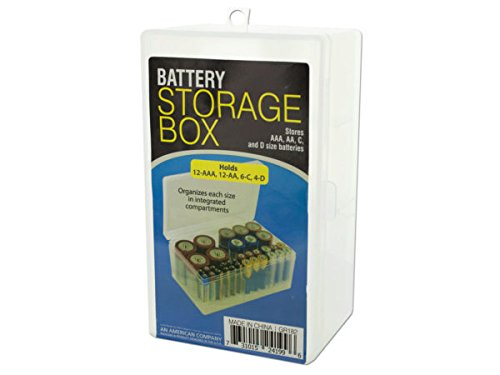 Battery Storage Box - Pack of 12