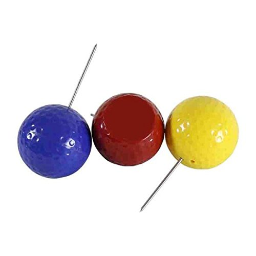 Wholesale Colorful Golf Ball Tee Marker (36pcs count) by B&G (Image #1)