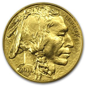 (2011 American Gold Buffalo Coins $50 Brilliant Uncirculated US Mint)