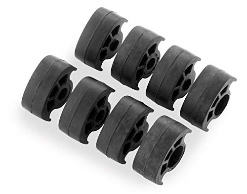 Kuryakyn ISO-Peg Replacement Rubber Pads - Small 8009