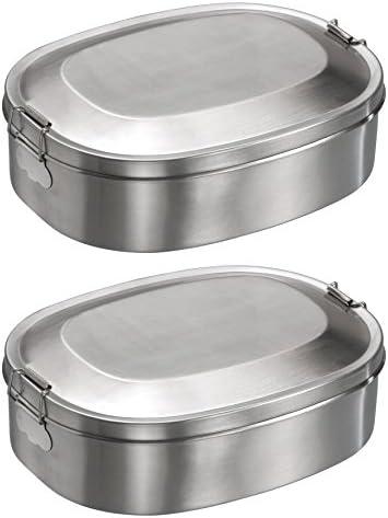 NAGO Lunchbox Butterbrotdose Vesperdose Brotdose weiß Frühstücksbox