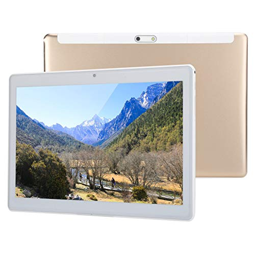 10in Android Tablet, Android 7.0 3G Phone Tablets with 1GB RAM + 32GB ROM, Dual Sim Card, 5MP+2MP Camera, Dual Band WIFI…