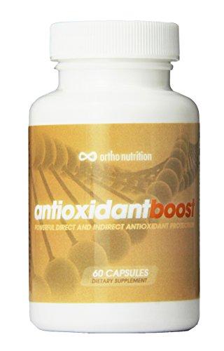 (Antioxidant Boost - Curcumin 95 + Resveratrol 99% + Quercetin + Sulforaphane 2% [500 Mg - 60 Vegetarian Capsules] Nrf2-activator (Anti-inflammatory, Anti-aging, Increase Glutathione))