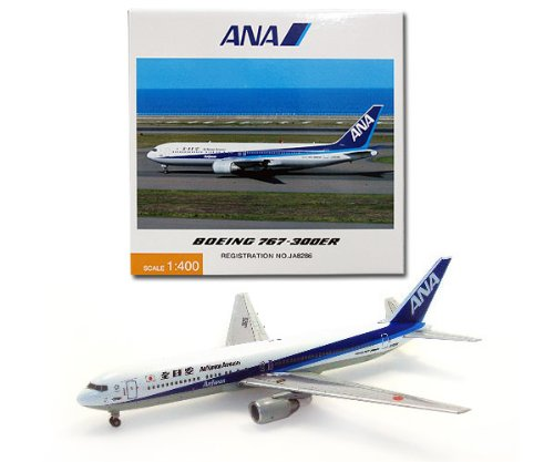 全日空商事 ANA 1/400 B767-300ER ANA 全日空英文ロゴ JA8286 完成品 B002YYXK9I