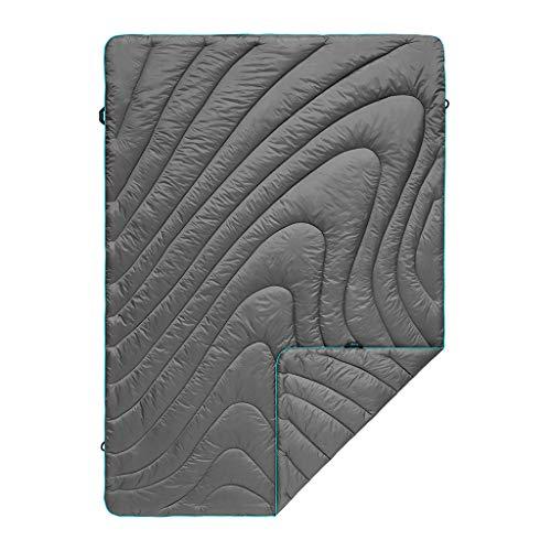 - Rumpl The Original Puffy Blanket, Charcoal Grey, Throw