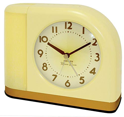 - Westclox 43000X 1950s Moonbeam Clock with Lighted Dial
