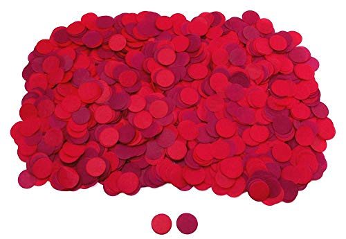 (1 Inch Round Tissue Paper Confetti Circles - 2.8oz - 10,000 Pieces/Pack)