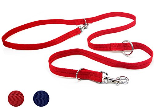 Mycicy Double Ended Leash Multi Functional Dog Training