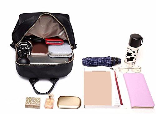 Al Moda Impermeable JIUSHIGUANG 14 Viajes 24 Mochila Hombros Aire Femeninos Púrpura 32 Cm Oxford Ocio Bolsos De Paño Libre wApf8WqAH