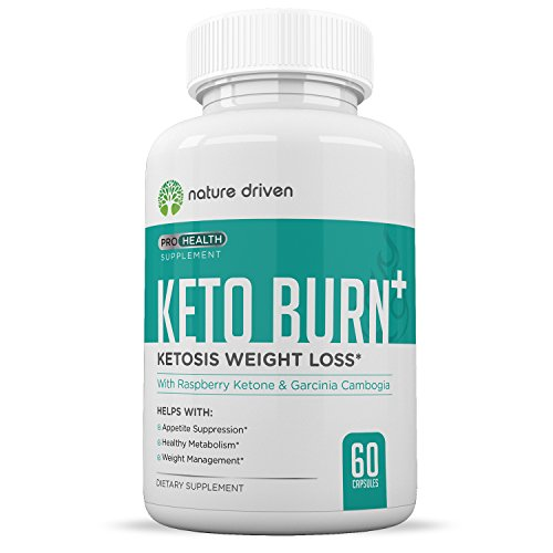 Keto Burn :: Weight Loss Supplements :: Improve Metabolism :: Boost Energy Levels:: All-Natural Ingredients:: 60 Caplets per Bottle :: One Month Supply :: Nature Driven