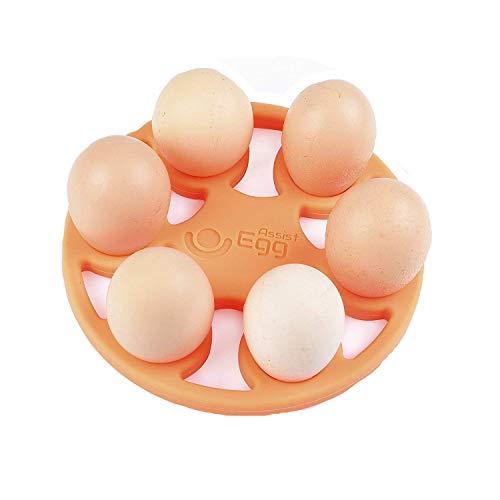 Egg Cooker EggAssist for Pressure Cooker, Multi Cooker and Instant Pot Silicone trivet